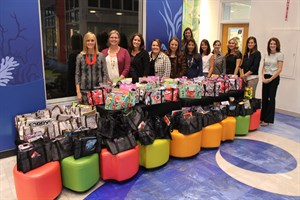 10/27/14 Care Bags Donation1