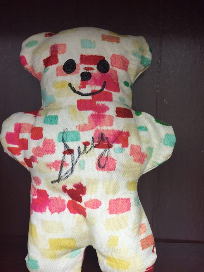 Sully Sullenberger Signed Bear