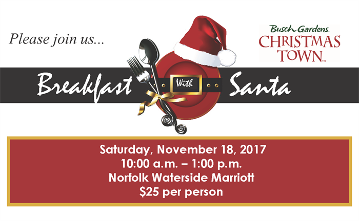 Breakfast With Santa Invite 2017 For Web