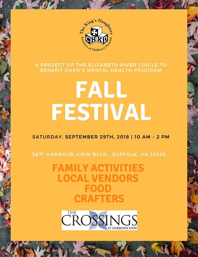 Fall Festival 2018 save the date