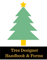 Tree Designer Button  2018 F