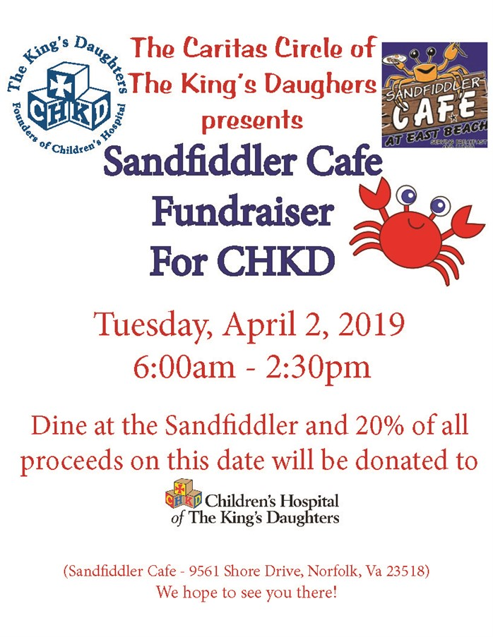 Sandfiddler Cafe Flyer